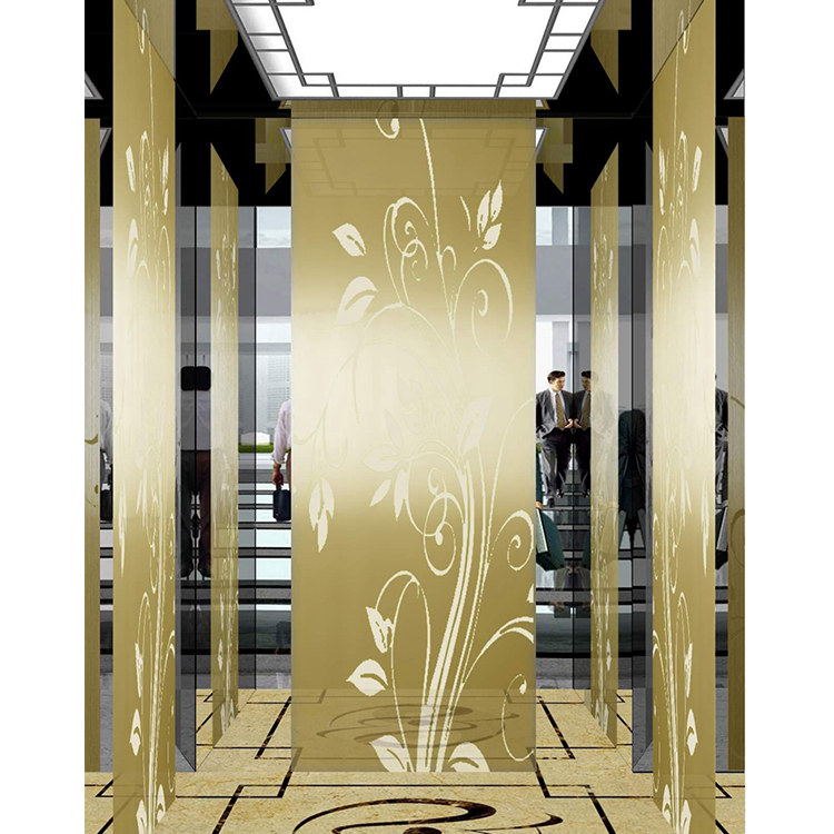 Europe style for Hotel Elevator Size - FUJI Vvvf Elevator with Small Machine Room Low Price (Stainless) – Fuji Featured Image