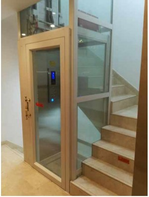 Passenger Elevator and AC Drive Type Automatic Home Lift
