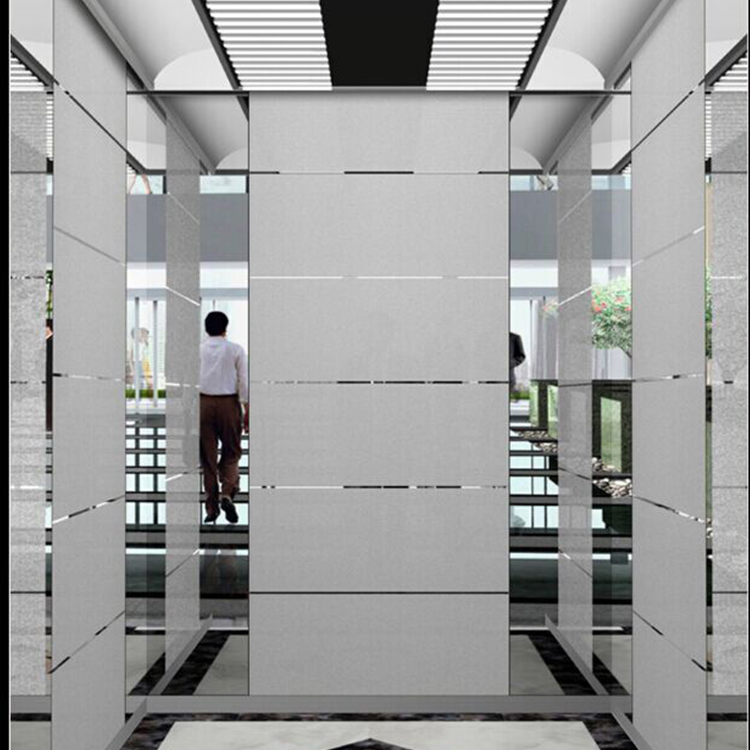 Europe style for Hotel Elevator Size - FUJI Vvvf Elevator with Small Machine Room Low Price (Stainless) – Fuji