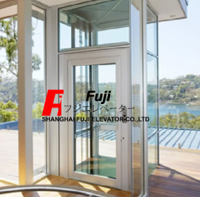 18 Years Factory Small Villa Glass Elevator -