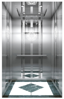 Hot sale Cheap SL 4 person Fuji 400KG Residential Elevator / Residential lift elevator price
