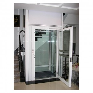 Passenger Elevators Elevator Type and AC Drive Type Automatic Home Lift