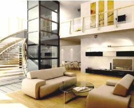 2 Person 630kg Household Small Home Elevator Villa Elevator /home elevator price