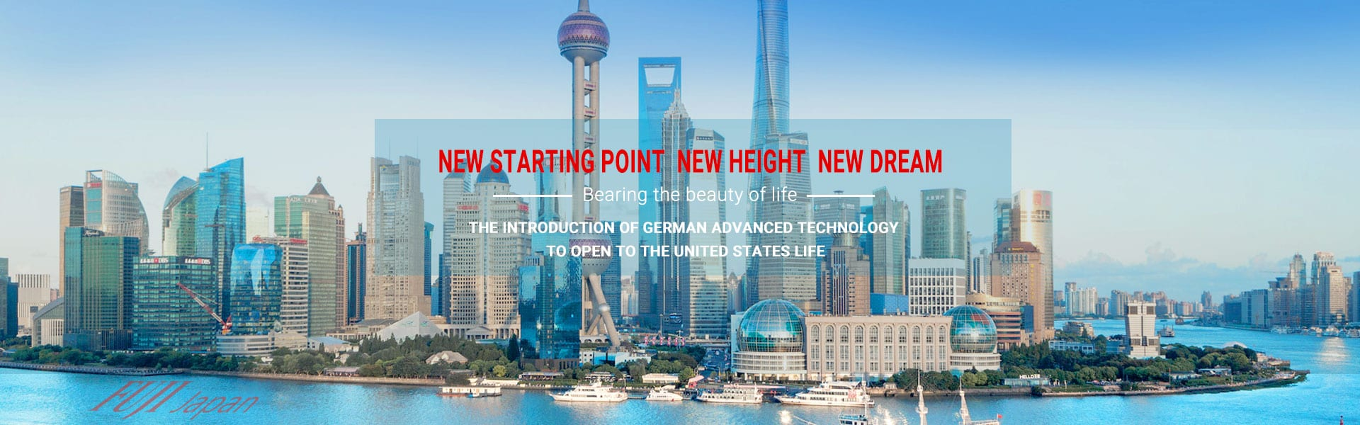 New starting point  new height  new dream