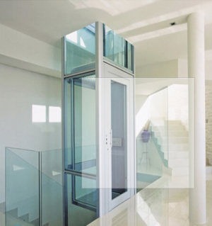 Residential home office building hotel passenger elevator with machine room