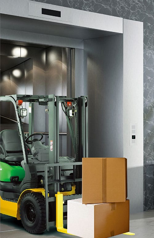 Quality Inspection for Basement Freight Elevators -