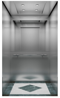 passenger elevator 304 stainless steel with machine room for 8 persons ,passenger elevator price ,passenger lift factory, 1m/s