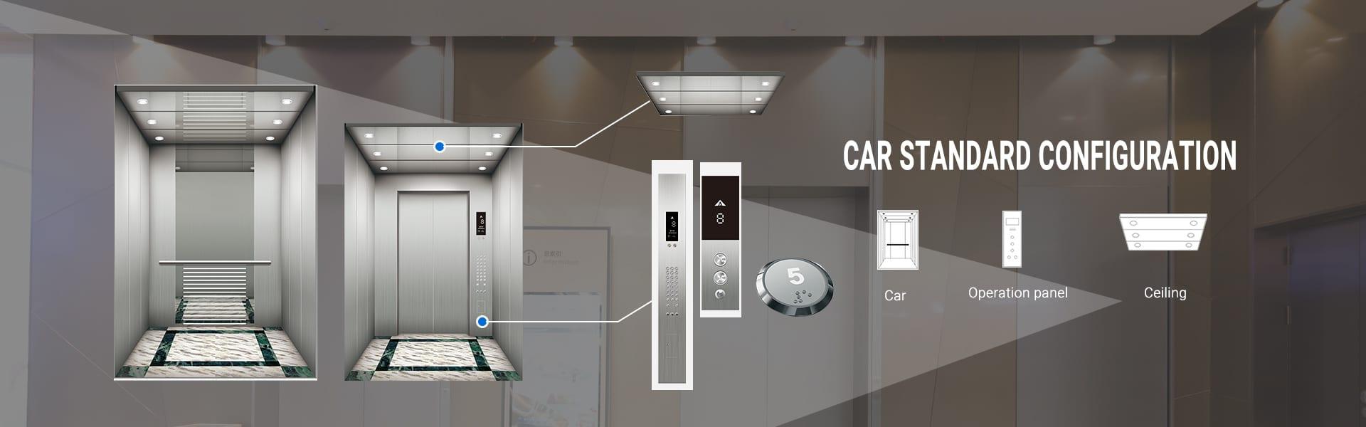 Konfiguracja standardowa samochód
