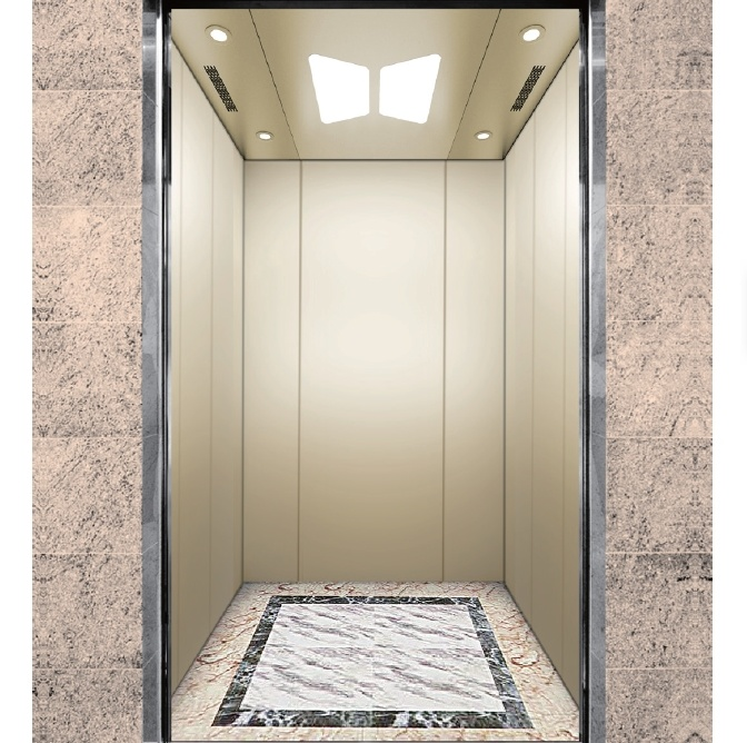 Newly Arrival Bayonet Elevator - Best Price For 1.0-3.0m/s Small Machine Room Passenger Elevator Lift  – Fuji
