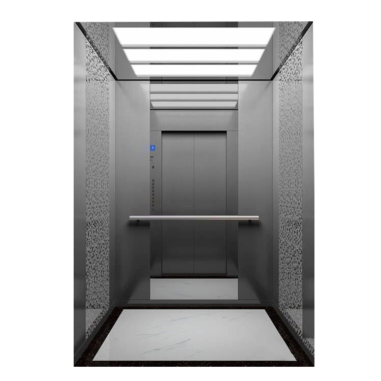 Reasonable price Small Lift For House - Stainless Steel Mirror Home Panoramic Villa Hospital Observation Passenger Elevator for Sale in Best Price – Fuji Featured Image