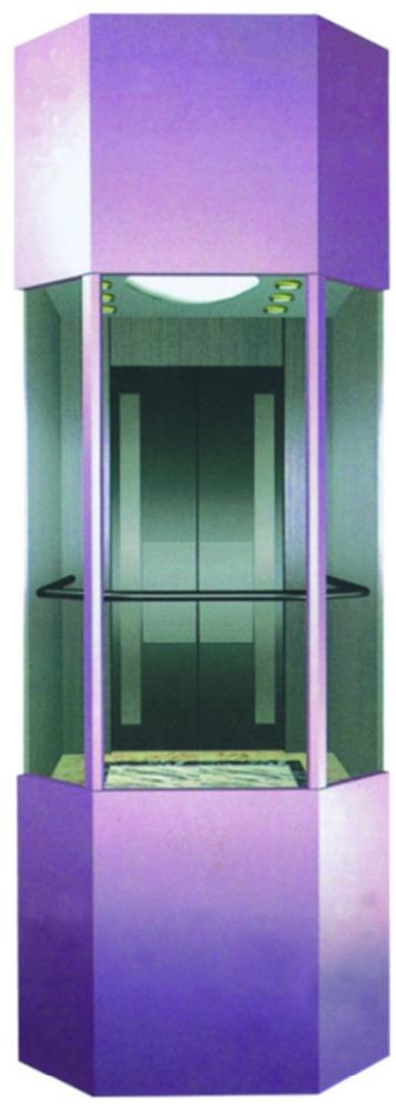 Hot-selling Residential - Cheap Price Villa  Pneumatic Vacuum Elevator or Villa Glass Home Round Elevator  – Fuji
