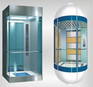 Cheap Price Villa  Pneumatic Vacuum Elevator or Villa Glass Home Round Elevator
