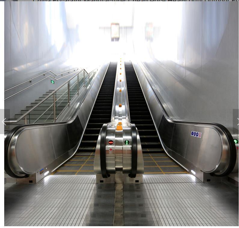 Bottom price Dumbwaiter Controller - Escalator high quality escalator height 4500mm step width 1000mm angle 35 degree indoor escalator  – Fuji Featured Image