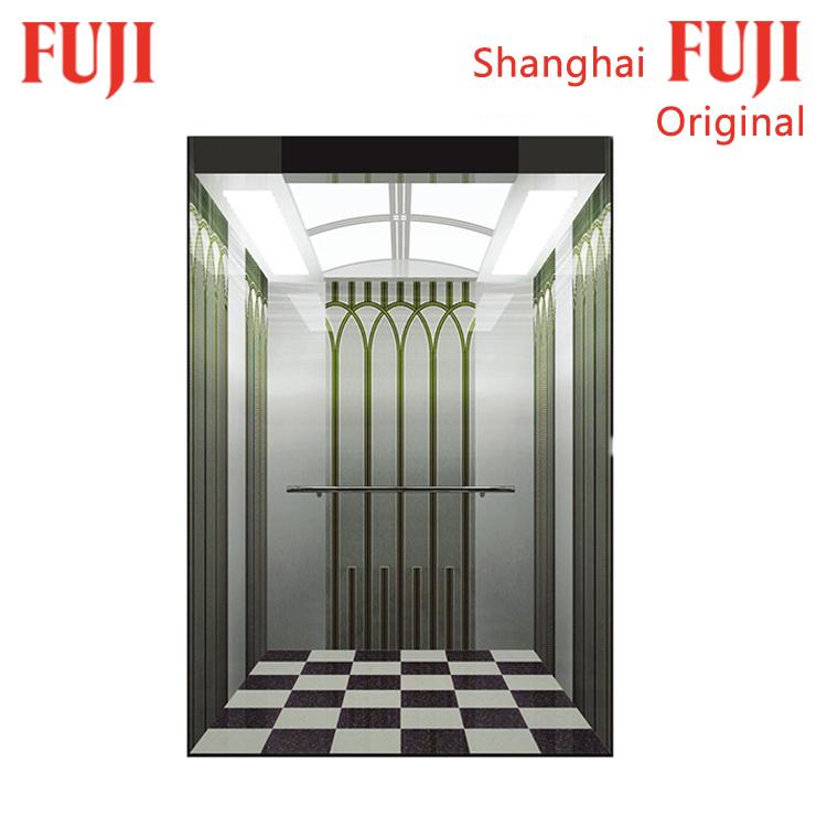 High reputation Periosteum Elevator - 630KG 8 Persons Passenger Lift Elevator with standard design  – Fuji