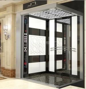 Machine Roomless 13 Passenger Elevator 1250kg Lift Size